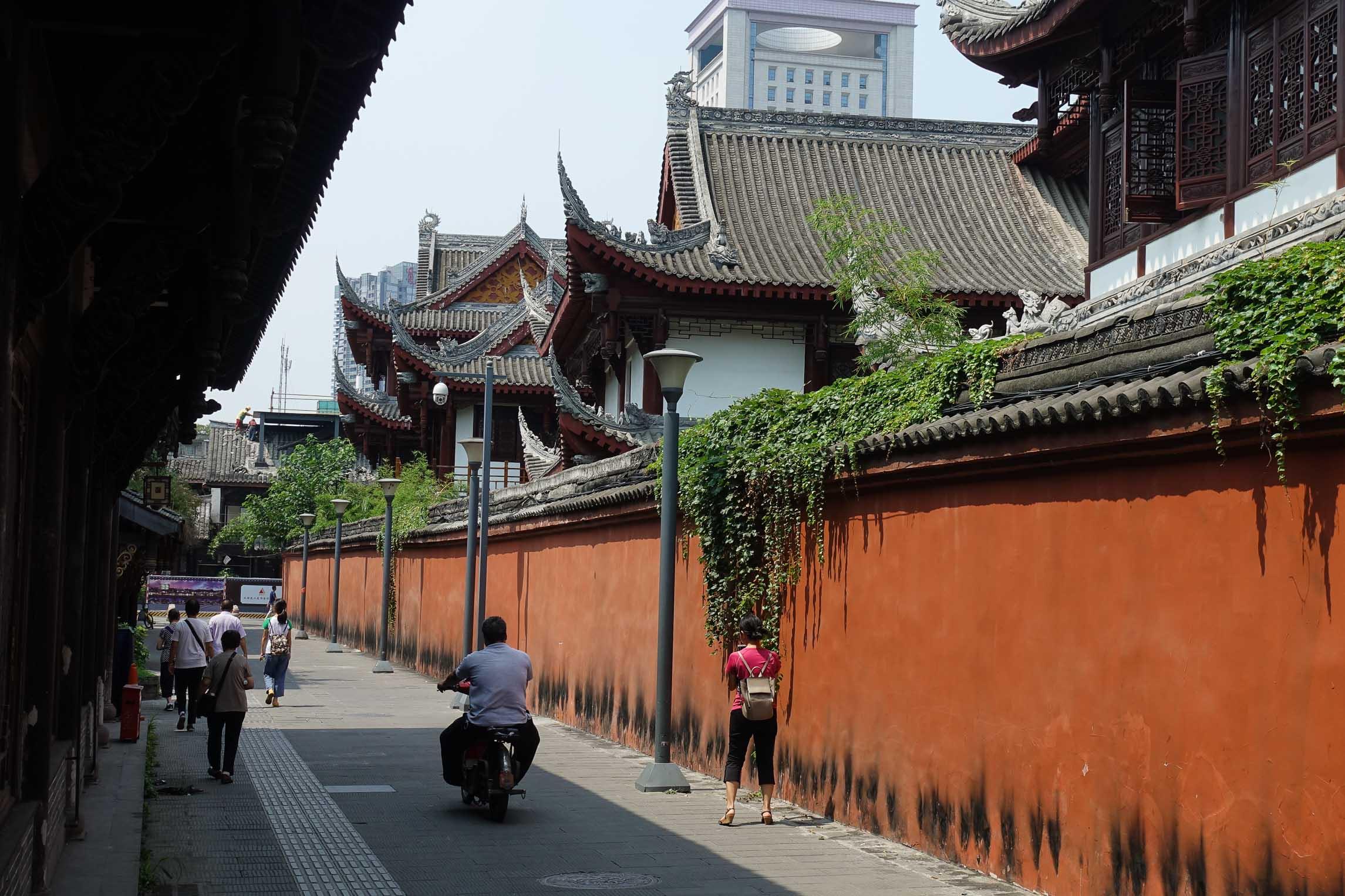 Wen Shu Monastery