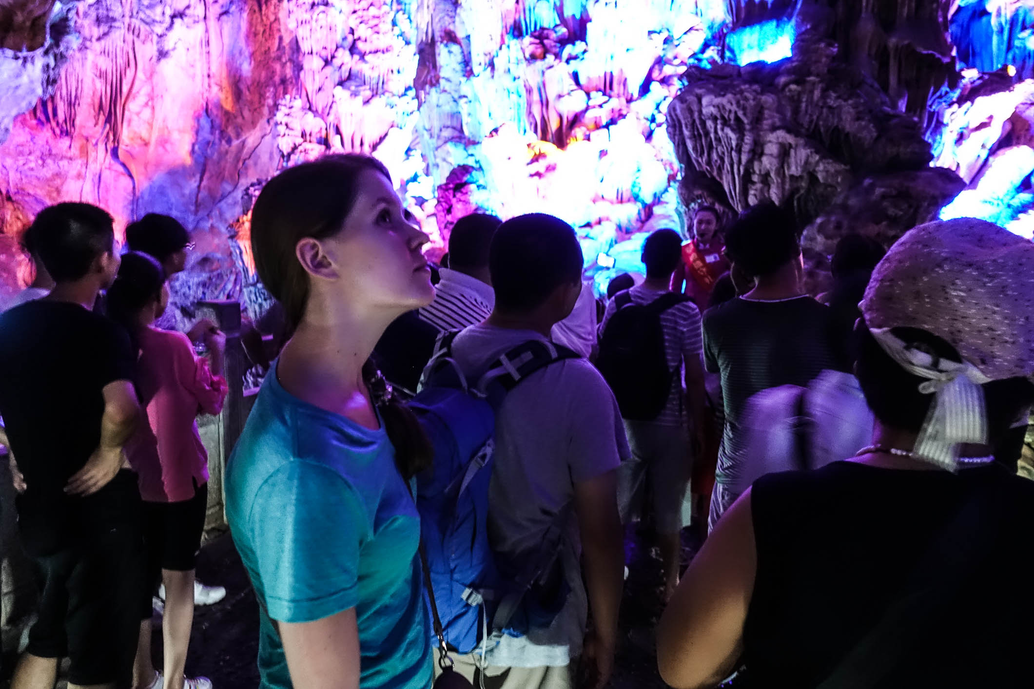 Petra in the Reed Flute Cave