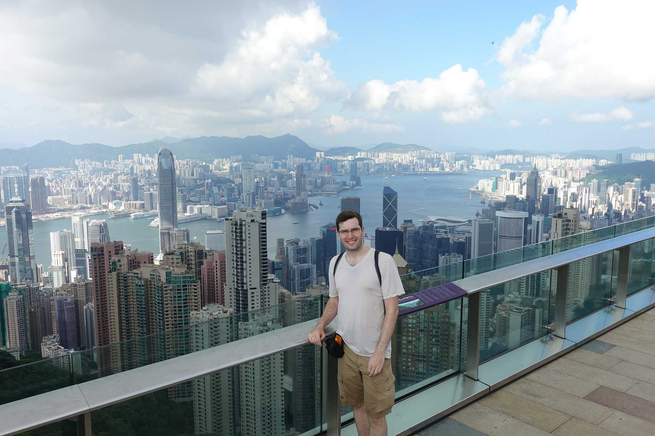 Hong Kong view from Victoria Peak