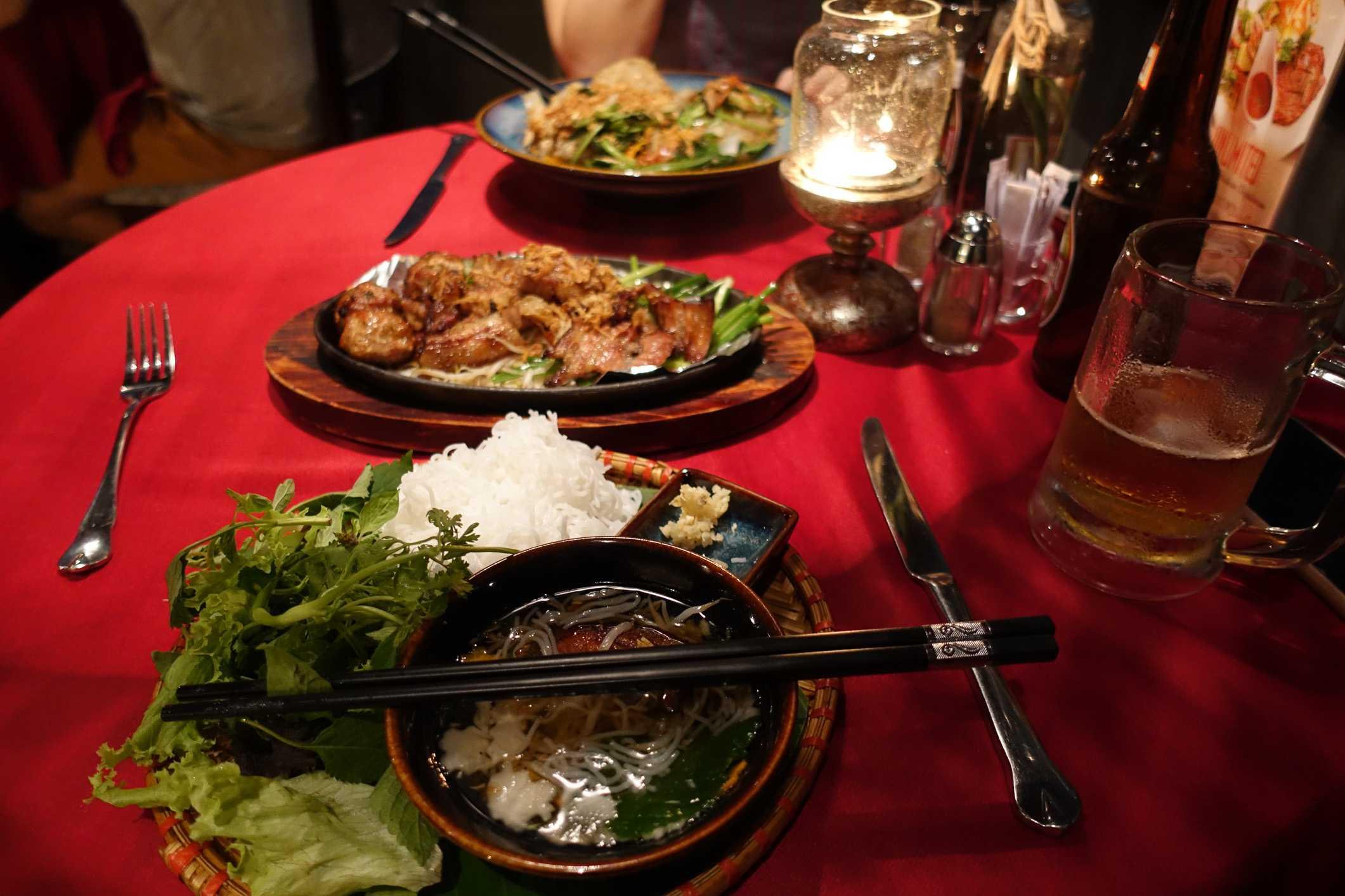 Dinner in Hanoi