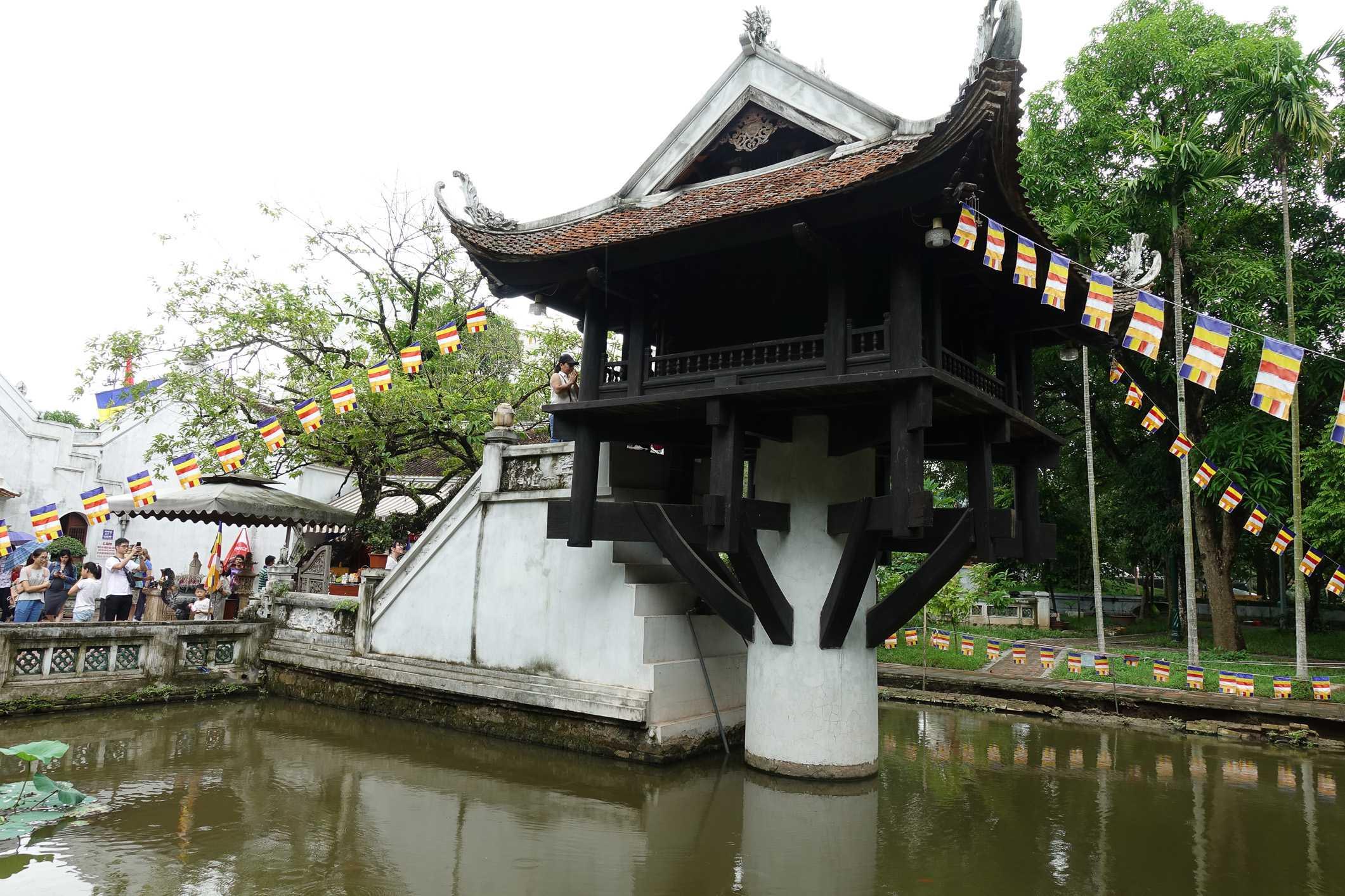 One pillar pagoda in Hanoi