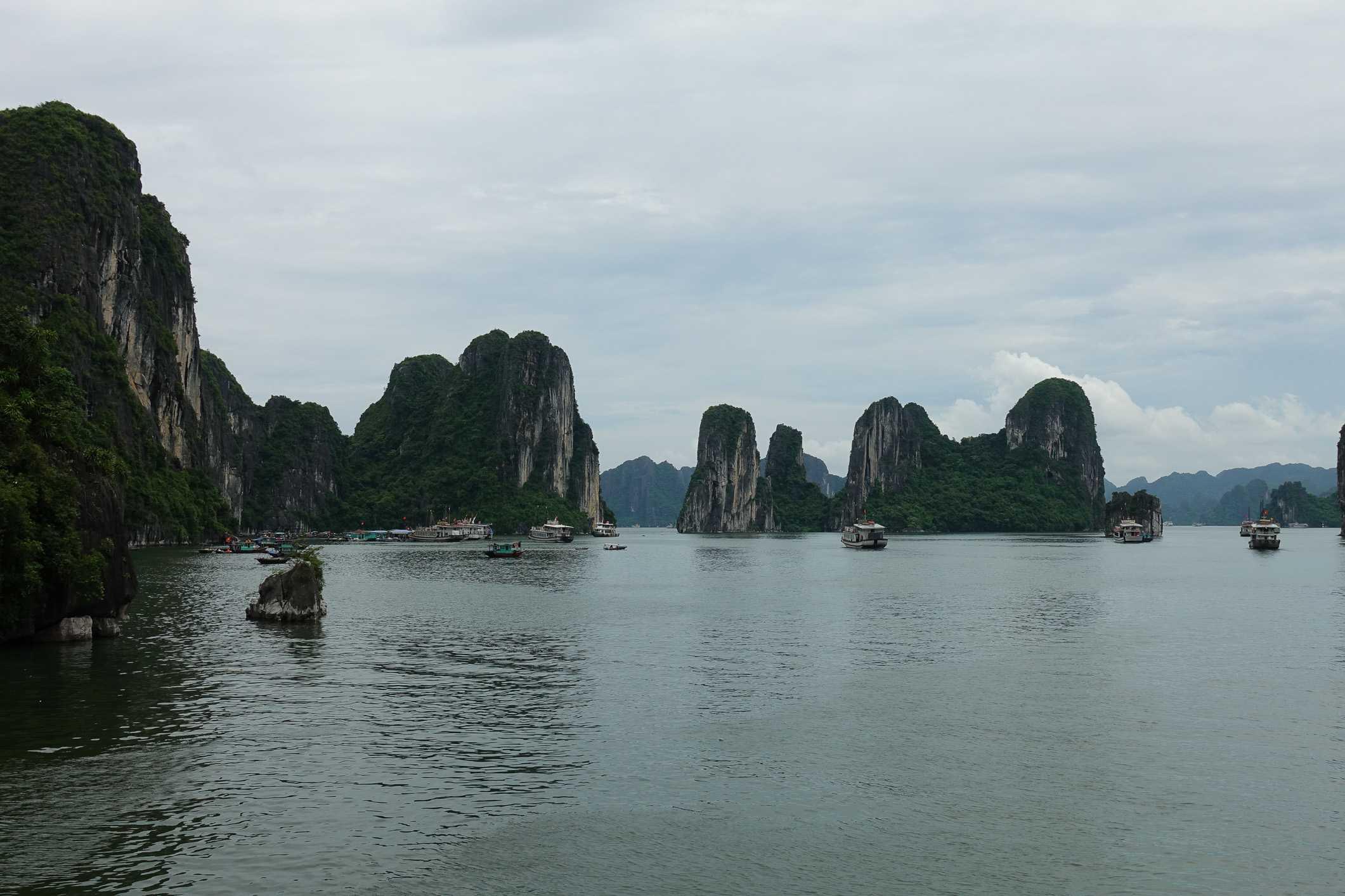 Karst in Ha Long Bay