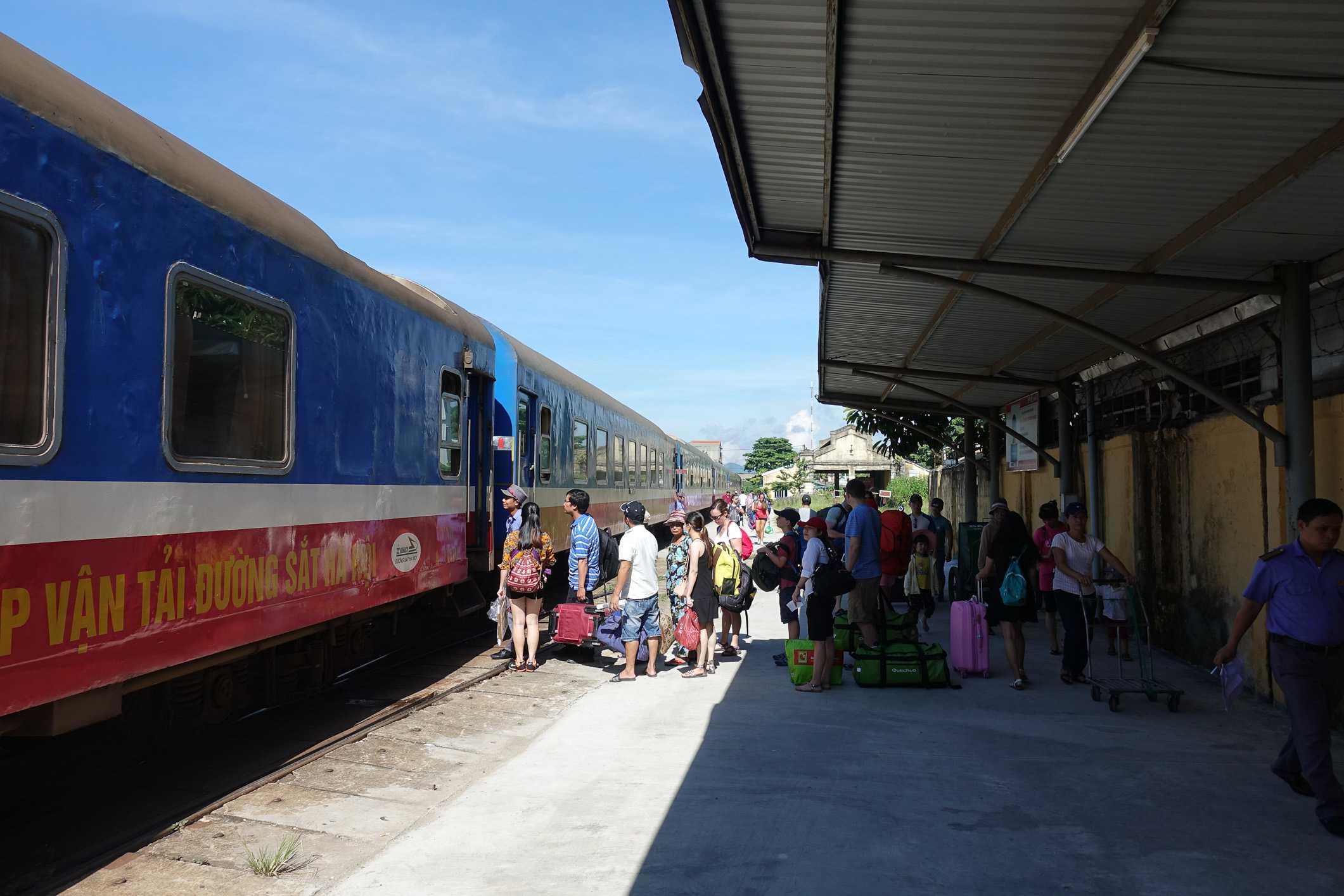 Overnight train to Hué