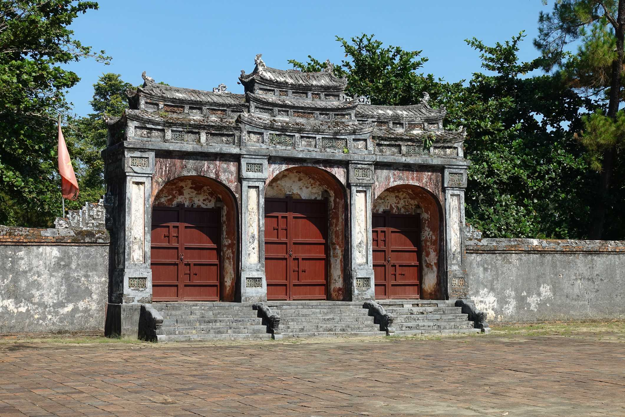 Minh Mang's tomb