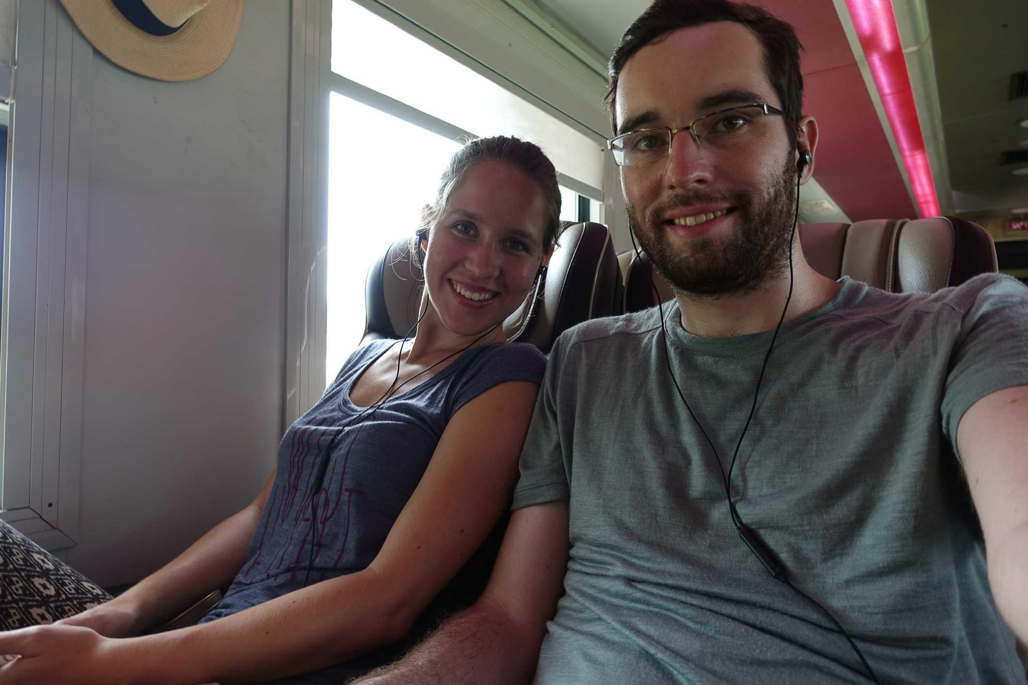 Train to Nha Trang