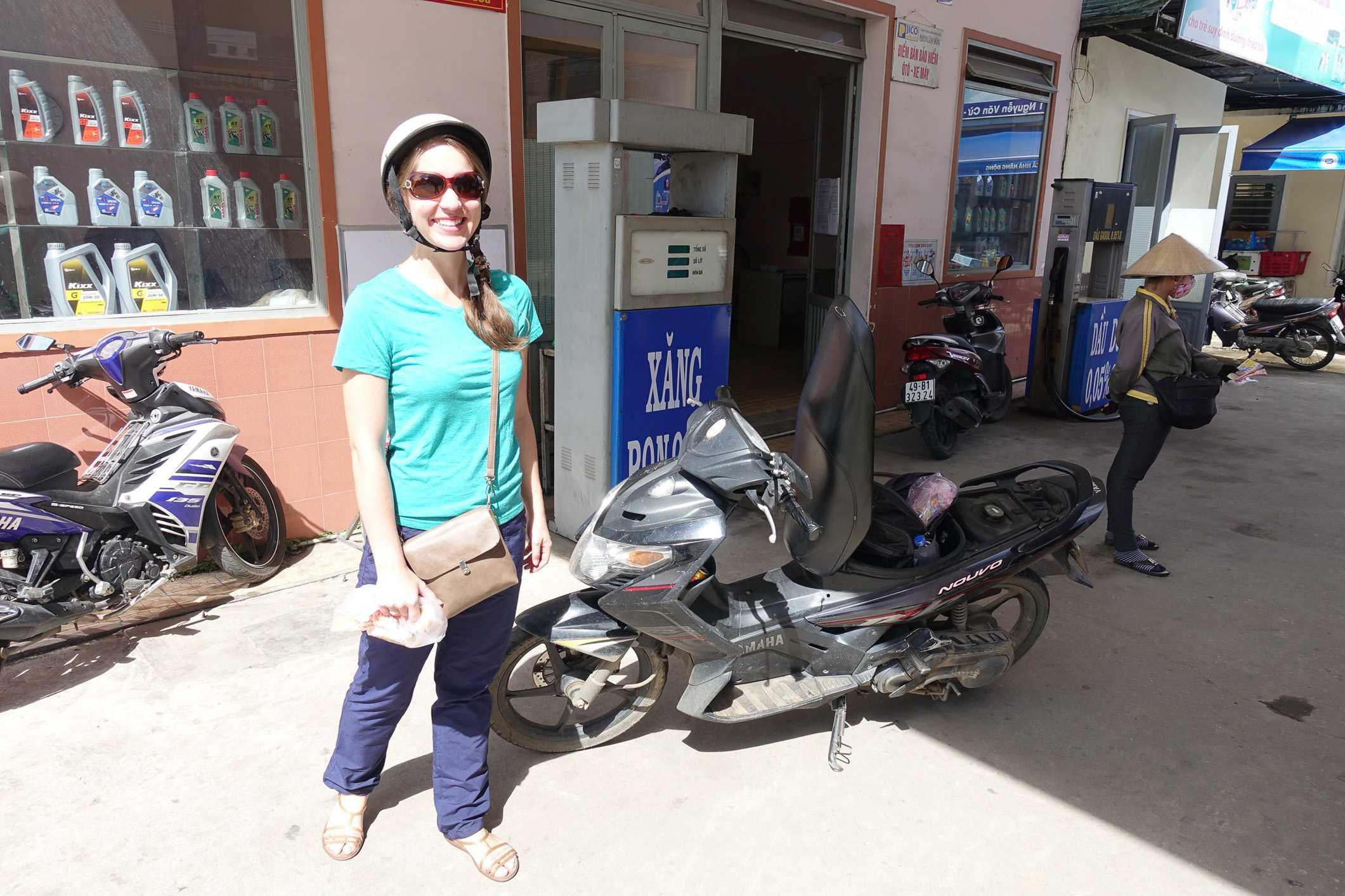 Renting a motorbike in Dalat
