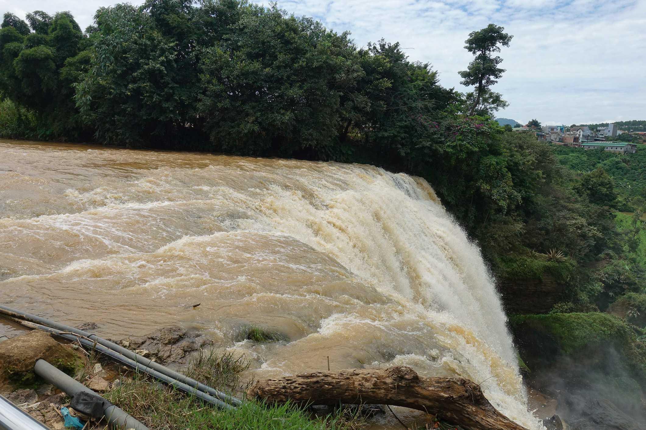 Elephant falls in Dalat