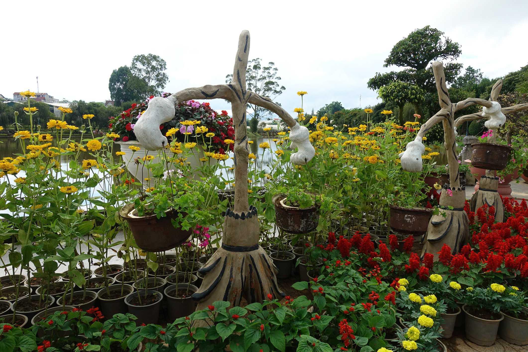 Flower Gardens in Dalat